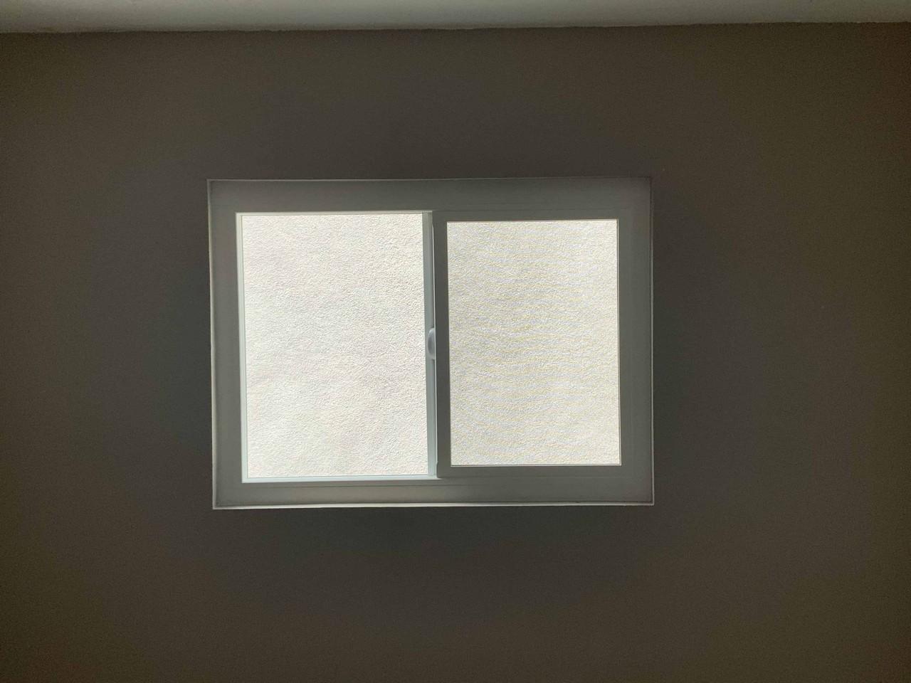 Vinyl XO Window